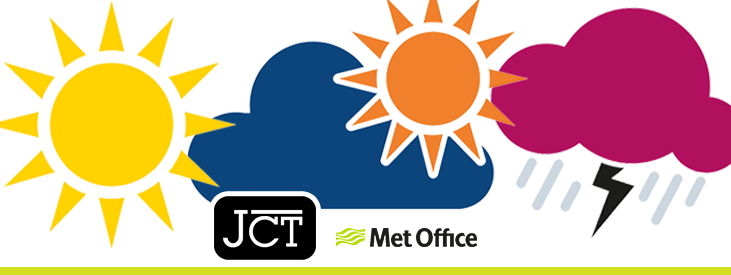 JCT Met Office Weather Reports