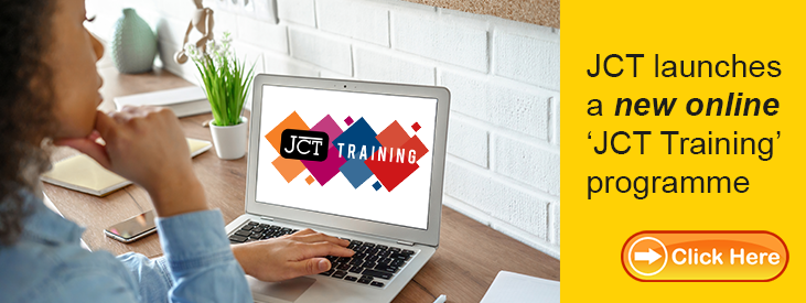 New JCT Training Online courses available