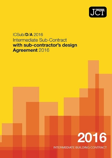 Intermediate Sub-Contract with sub-contractor's design Agreement (ICSub/D/A)