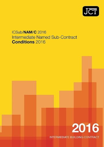 Intermediate Named Sub-Contract Conditions (ICSub/NAM/C)