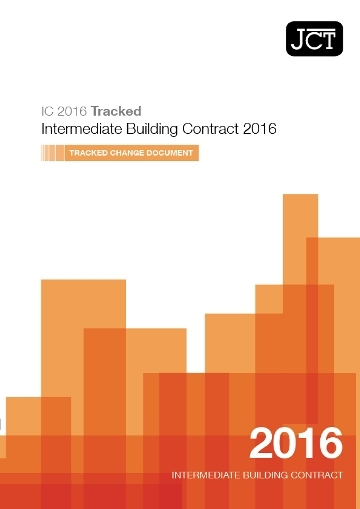 Intermediate Building Contract (IC) Tracked Change Document