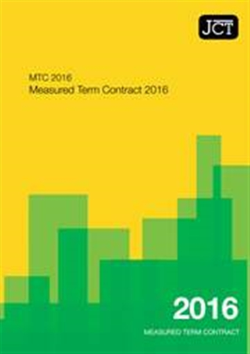 Measured Term Contract (MTC)