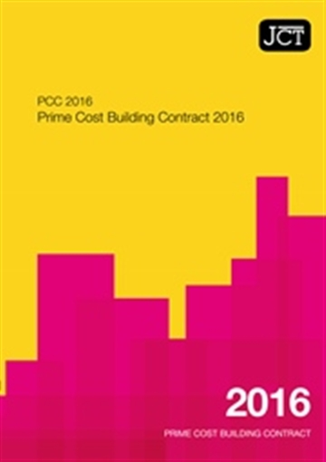 Prime Cost Building Contract (PCC)