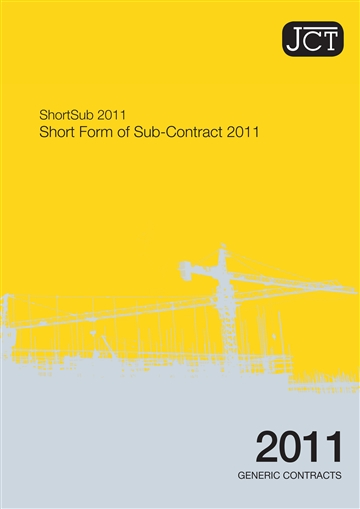 Short Form of Sub-Contract
