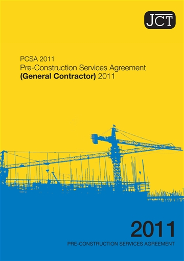 Pre Construction Services Agreement General Contractor