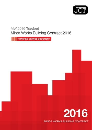 Minor Works Building Contract (MW) Tracked Change Document